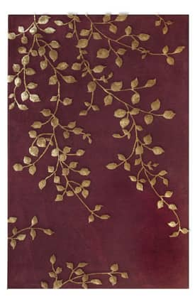 The Rug Market Maison Golden Leaves Rug