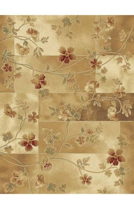 Central Oriental Shadows Muse Rug