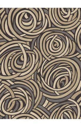 Central Oriental Stone Creek Rope Rug
