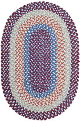 Colonial Mills BK Outdoor Blokburst Braided Rug
