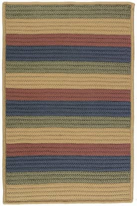 Colonial Mills Janelle Braided Line Dance Rug
