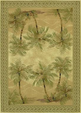 Couristan Everest Palm Tree Rug
