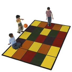 Flagship Educational Grid Rug