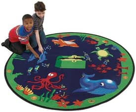 Flagship Carpets Nature Sea Hunt Rug