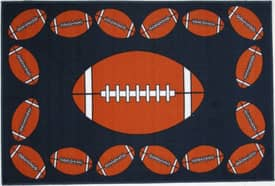 Fun Rugs Funtime Football Time Rug