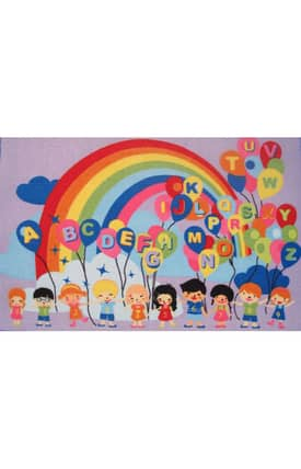 Fun Rugs Funtime Educational Balloons Rug