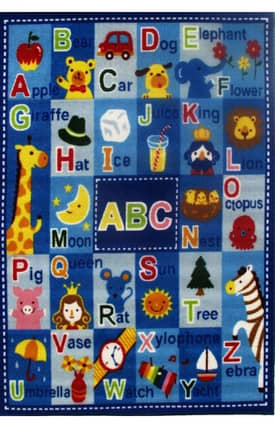 Fun Rugs Funtime Letters & Names Rug