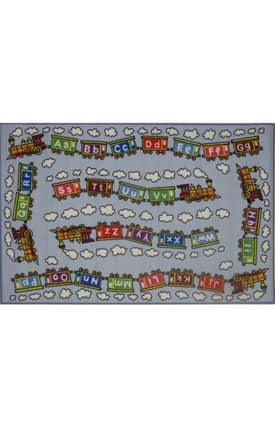 Fun Rugs Funtime Edu Train Rug