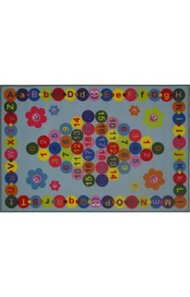 Fun Rugs Funtime Happy Learning Rug