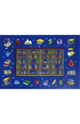 Fun Rugs Funtime Reading Time Rug
