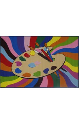 Fun Rugs Funtime Painting Time Rug