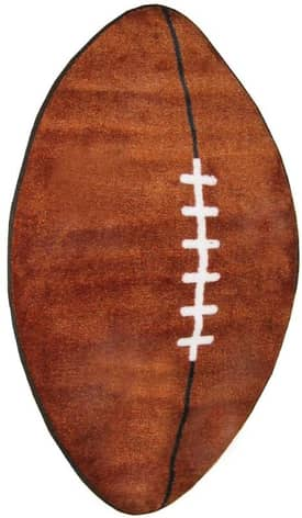 Fun Rugs Funtime Shapes Football Rug