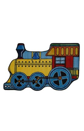 Fun Rugs Funtime Shapes Train Rug