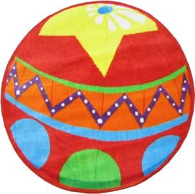 Fun Rugs Funtime Shapes Circus Ball Rug