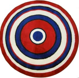 Fun Rugs Funtime Shapes Concentric Rug