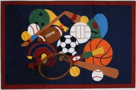 Fun Rugs Funtime Sports America Rug