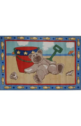 Fun Rugs Jade Reynolds Beach Bear Rug