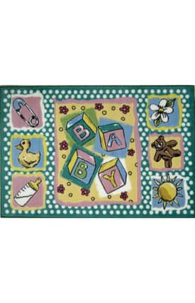 Fun Rugs Jade Reynolds Building Blocks Rug