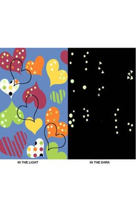 Fun Rugs Night Flash NF16 Glow In The Dark Rug