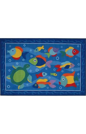 Fun Rugs Olive Somethin' Fishy Rug