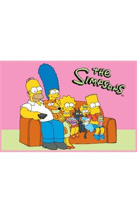Fun Rugs The Simpsons MP Family Portrait Rug