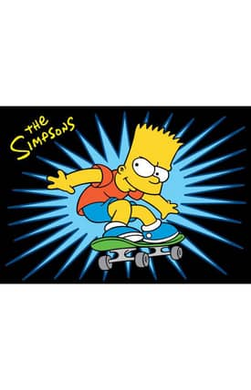 Fun Rugs The Simpsons MP SK8 PRO Rug