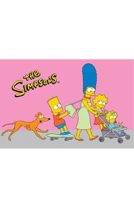 Fun Rugs The Simpsons MP Walk N Roll Rug