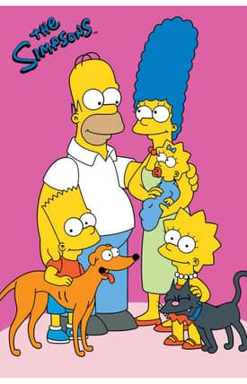 Fun Rugs The Simpsons HP Loving Family Rug