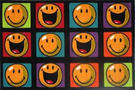 Fun Rugs Smiley World Happy & Smiling Rug