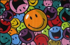 Fun Rugs Smiley World Smiles & Laughs Rug