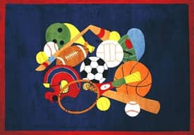 Fun Rugs Funtime Supreme Sports America Rug