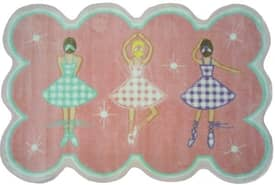 Fun Rugs Funtime Supreme Gingham Dance Rug