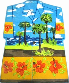 Fun Rugs Funtime Supreme Hawaiin Shirt Rug