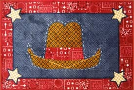 Fun Rugs Funtime Supreme Cowboy Quilt Rug