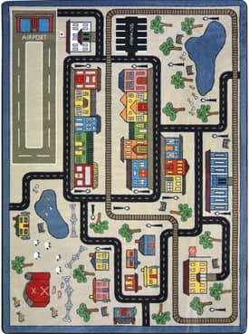 Joy Carpets Just For Kids Tiny Town Rug