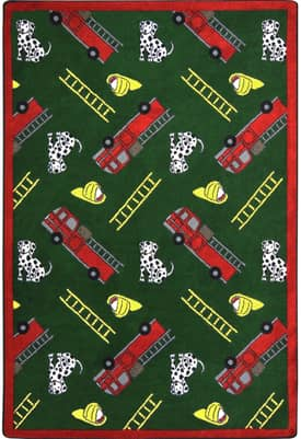 Joy Carpets Kid Essentials Hook and Ladder Rug