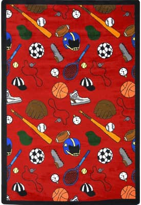 Joy Carpets Kid Essentials Multi-Sport Rug