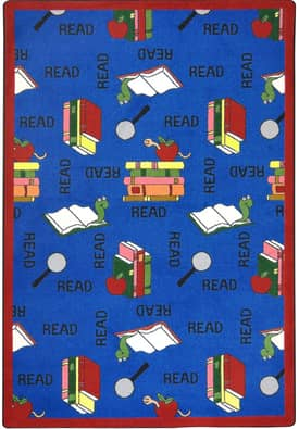 Joy Carpets Kid Essentials Bookworm Rug