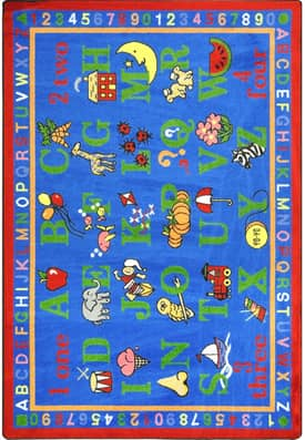 Joy Carpets Kid Essentials Phonics Fun Rug
