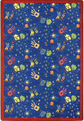 Joy Carpets Kid Essentials Scribbles Rug