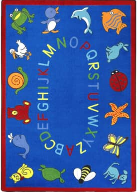 Joy Carpets Kid Essentials Abc Animals Rug
