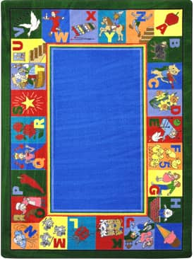 Joy Carpets Kid Essentials My Favorite Rhymes Rug