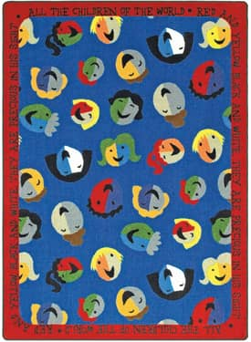 Joy Carpets Kid Essentials Children of the World Rug