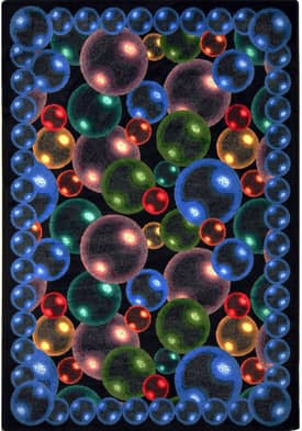 Joy Carpets Whimsy Bubbles Rug