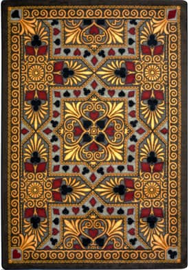 Joy Carpets Gaming and Entertainment Jackpot Rug