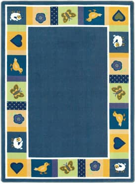 Joy Carpets Just For Kids Baby Blues Rug