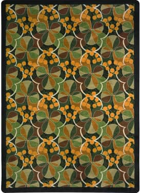 Joy Carpets Nature Shamrock Rug