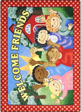 Joy Carpets Just For Kids School Days Rug