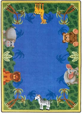 Joy Carpets Just For Kids Jungle Friends Rug
