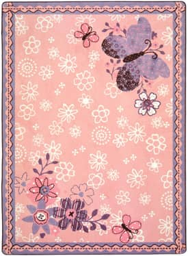 Joy Carpets Just For Kids Flower Fields Rug